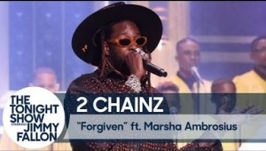 "2 Chainz & Marsha Ambrosius Perform ""forgiven"" Live On The Tonight Show"